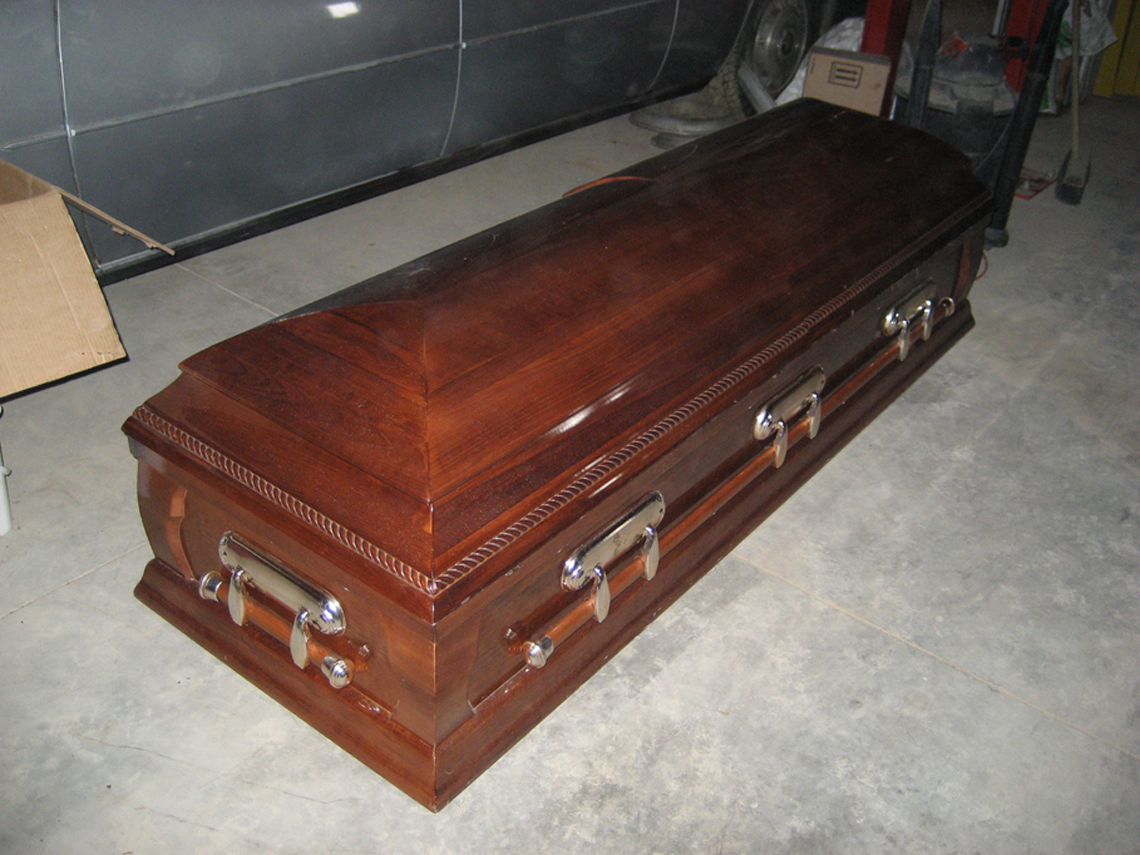 Casket -  Used as a Prop.
