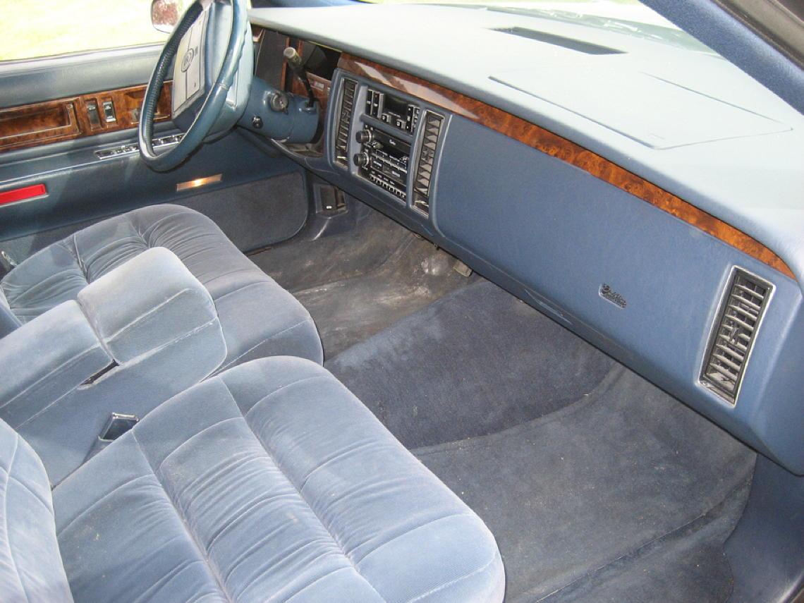 93 Superior Coach interior