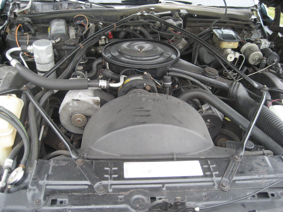 85 cadillac engine