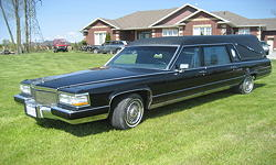 92 S&S Cadillac Hearse