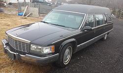 96 Cadillac Hearse