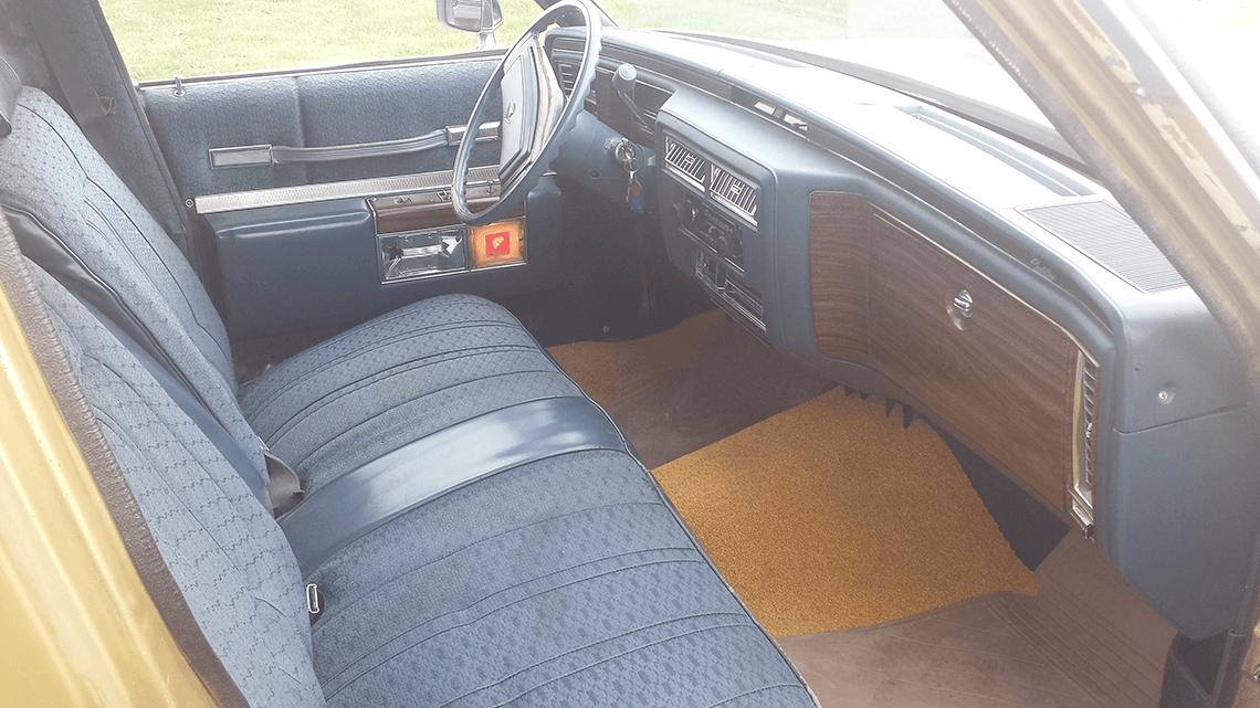 78 S&S Hearse- Interior