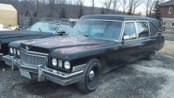 1973 Superior 3 Way Hearse