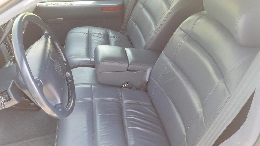 94 Eureka Coach interior