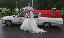 97 Cadillac Ghostbuster Car