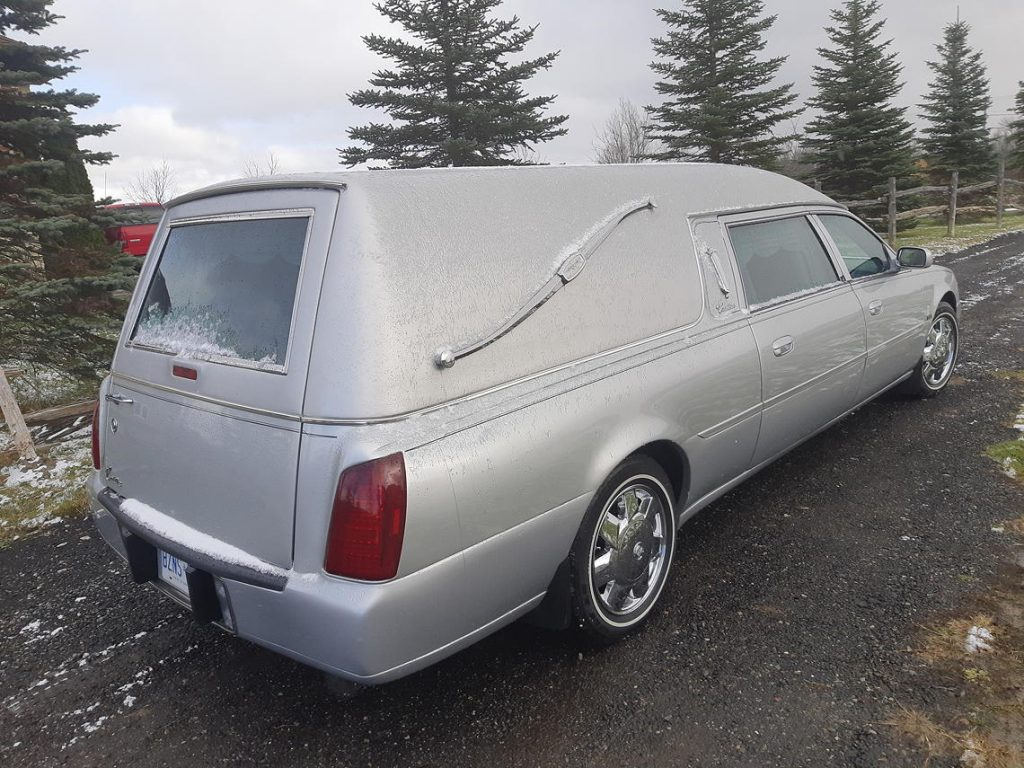 2003 Eagle Hearse back