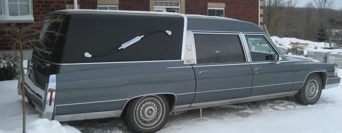 1990 Cadillac Eureka Hearse
