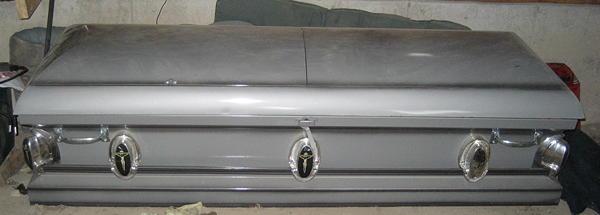 Silver Casket