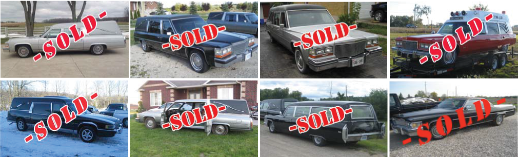 Sold Hearses