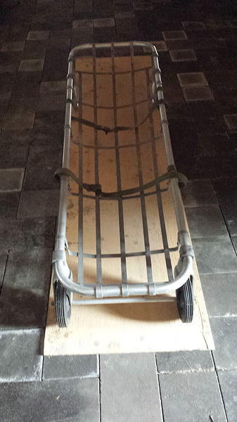 vintage rescue stretcher
