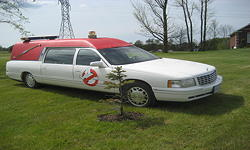 97 Cadillac Ghostbuster Car