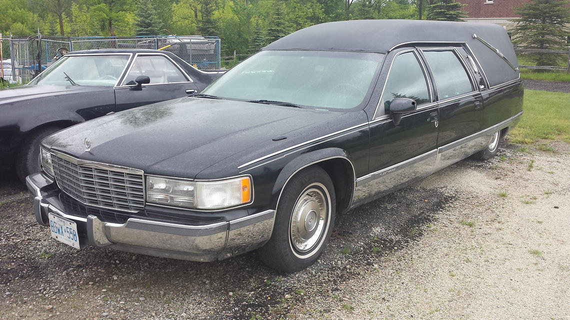 93 Eagle Hearse Sideview