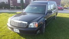 2001 S&S Cadillac Hearse